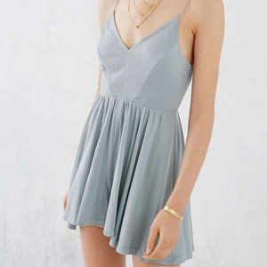 Urban Outfitters Light green/blue romper Size Smal